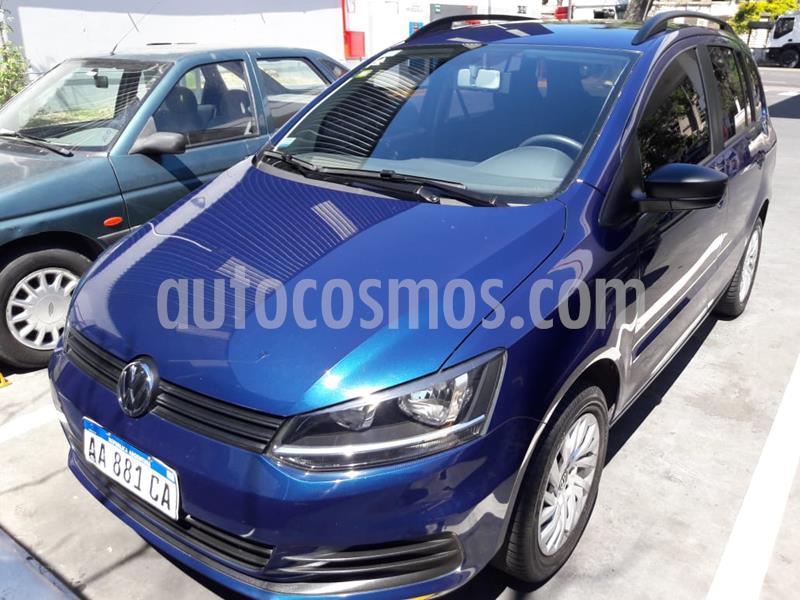 Volkswagen Suran 1.6 Comfortline usado (2017) color Azul precio $920.000