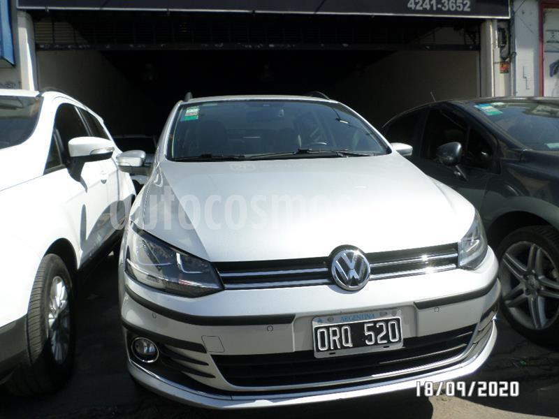 Volkswagen Suran 1.6 Highline Plus usado (2015) color Gris Claro precio $880.000