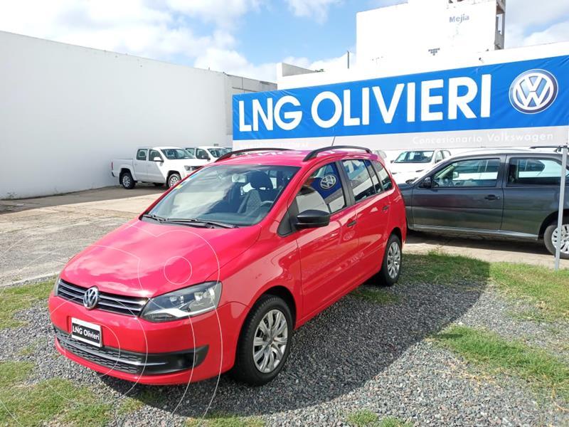 Foto Volkswagen Suran 1.6 Comfortline usado (2013) color Rojo Tornado precio $980.000