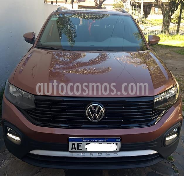 Volkswagen T-Cross Trendline usado (2020) color Marron precio $1.500.000