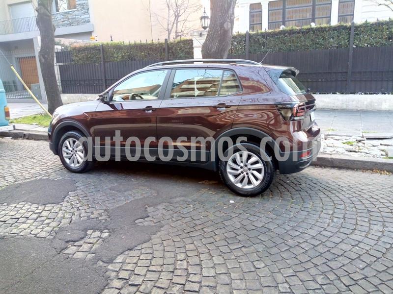 Volkswagen T-Cross Trendline usado (2020) color Rojo Carmesin precio $1.468.000