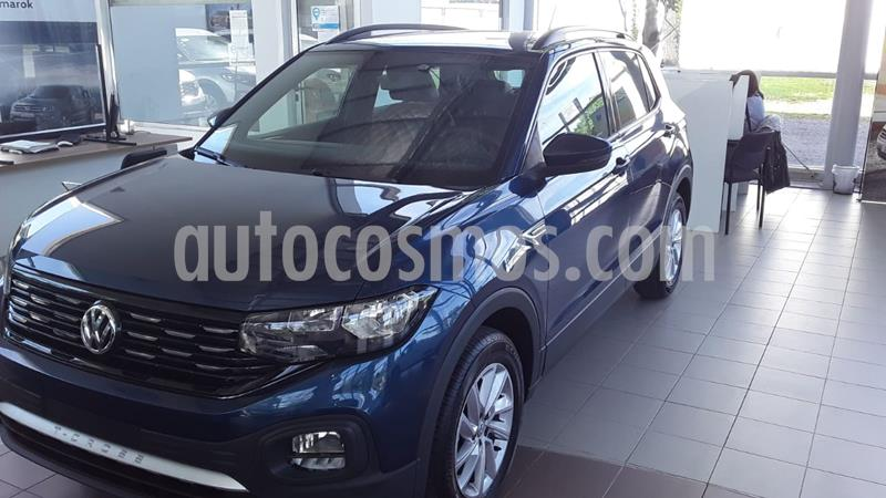Volkswagen T-Cross Trendline nuevo color Azul precio $1.858.000