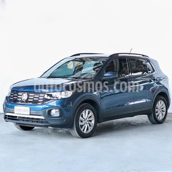Volkswagen T-Cross Comfortline usado (2019) color Azul Egeo precio $1.566.000