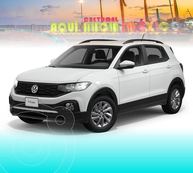 Foto Volkswagen T-Cross Trendline Aut nuevo color Blanco precio $358,489