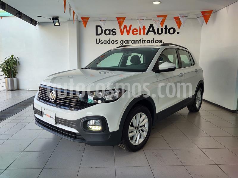 Volkswagen T-Cross Trendline Edicion de Lanzamiento usado (2020) color Blanco precio $330,000