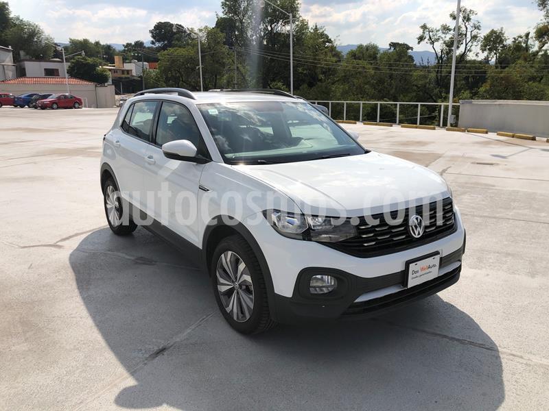 Volkswagen T-Cross Comfortline Aut usado (2020) color Blanco precio $348,000
