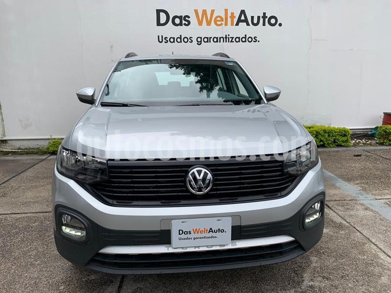 Volkswagen T-Cross Trendline Aut. usado (2020) color Plata precio $334,900