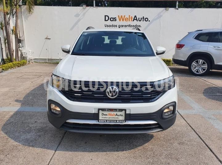 Volkswagen T-Cross Comfortline Aut. usado (2020) color Blanco precio $380,000