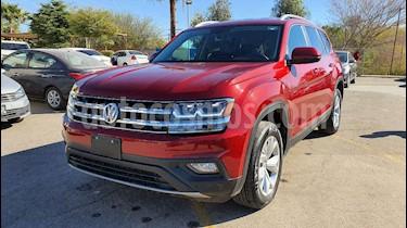 Volkswagen Teramont 5p Comfortline V6/3.6 Aut usado (2019) color Rojo precio $499,800