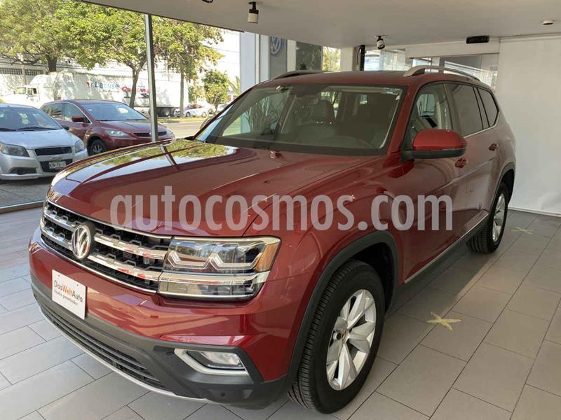 Volkswagen Teramont Comfortline Plus usado (2019) color Rojo precio $695,000