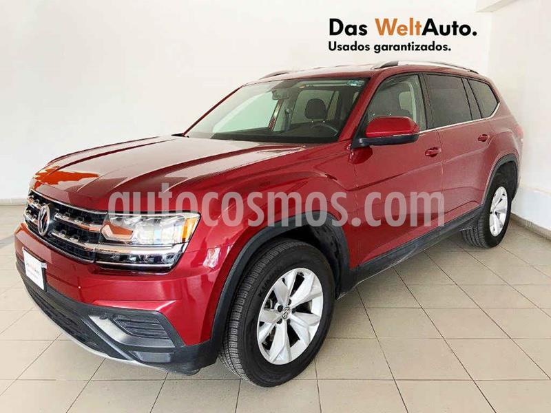 Volkswagen Teramont Trendline usado (2019) color Rojo precio $499,442