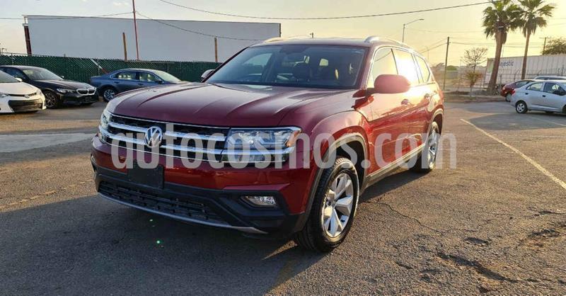 Volkswagen Teramont Comfortline usado (2019) color Rojo precio $439,900