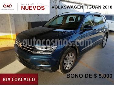 Foto venta Auto usado Volkswagen Tiguan 5p Trendline 1.4 L4/1.4/T Aut (2018) color Azul precio $329,000