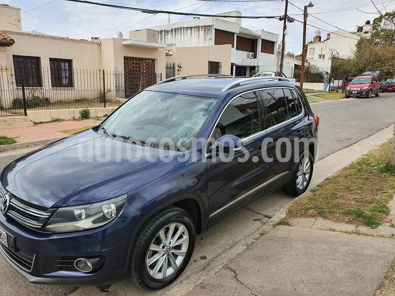 Volkswagen Tiguan 2.0 TSi Premium Aut usado (2014) color Azul precio $1.450.000