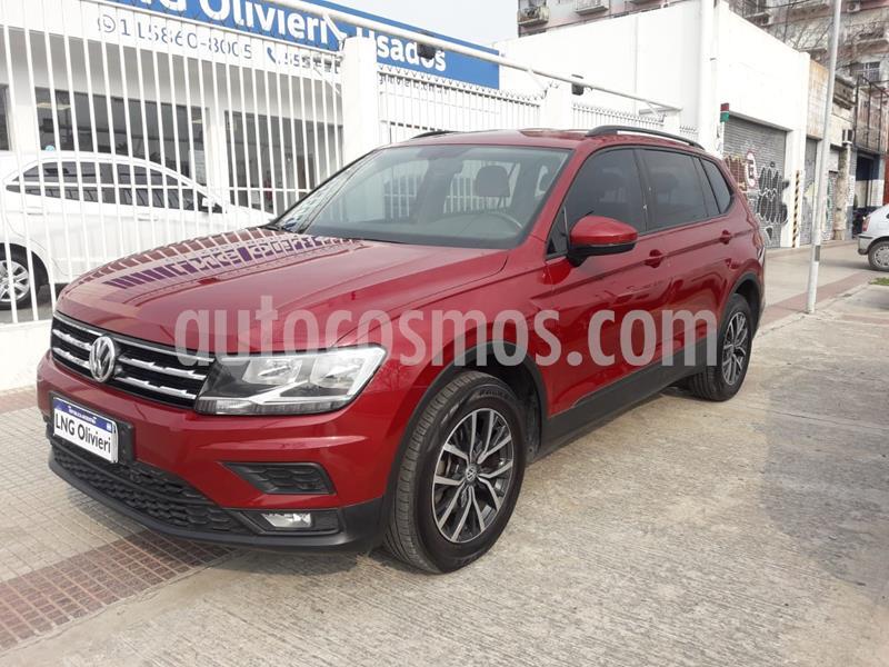 Volkswagen Tiguan Allspace 1.4 Trendline Aut usado (2018) color Rojo Rubi precio $2.780.000