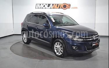 Volkswagen Tiguan 2.0 TSi Premium usado (2012) color Azul Noche precio $1.050.000