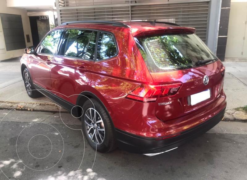 Volkswagen Tiguan Allspace 1.4 Trendline Aut usado (2019) color Rojo Rubi precio $3.590.000