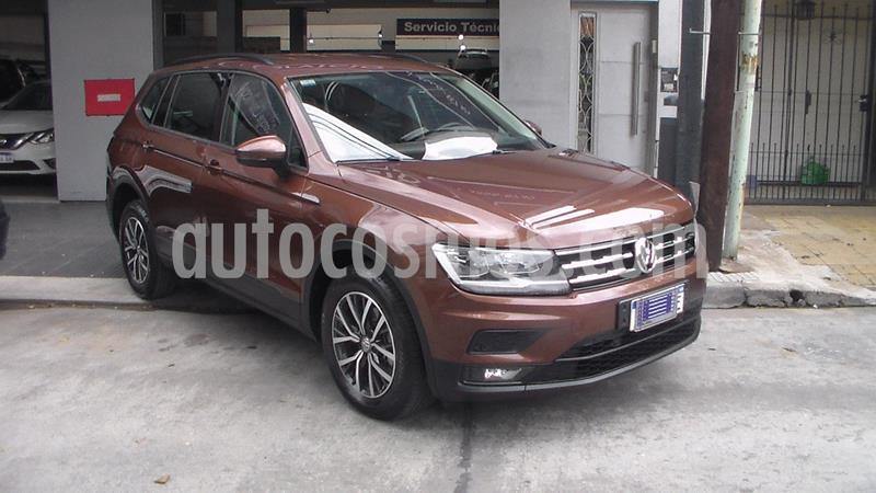 Volkswagen Tiguan Allspace 1.4 Trendline Aut usado (2019) color Marron precio $4.299.900