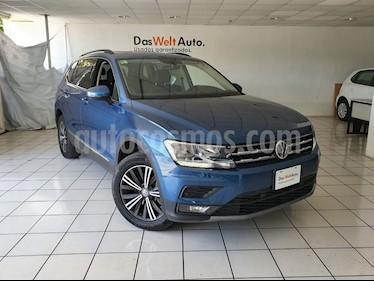 Foto venta Auto usado Volkswagen Tiguan Comfortline 5 Asientos Piel (2019) color Azul precio $449,900