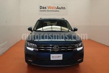 Foto venta Auto usado Volkswagen Tiguan Comfortline 5 Asientos Piel (2018) color Azul precio $410,000