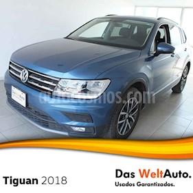 Foto venta Auto usado Volkswagen Tiguan Comfortline 5 Asientos Piel (2018) color Azul precio $420,000