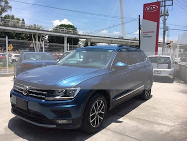 Foto venta Auto usado Volkswagen Tiguan Comfortline 7 Asientos Tela (2018) color Azul precio $368,000
