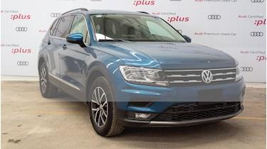 Foto venta Auto usado Volkswagen Tiguan Comfortline 7 Asientos Tela (2018) color Azul precio $420,000