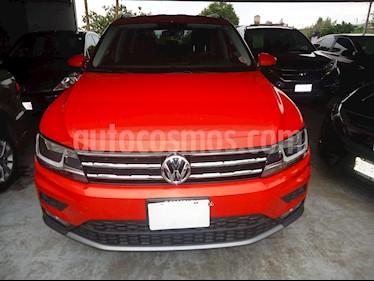 Foto venta Auto usado Volkswagen Tiguan Comfortline 7 Asientos Tela (2019) color Naranja precio $418,000