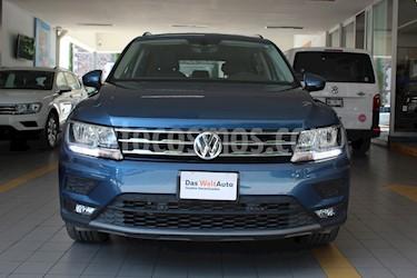 Volkswagen Tiguan Comfortline 7 Asientos Tela usado (2019) color Azul precio $425,000