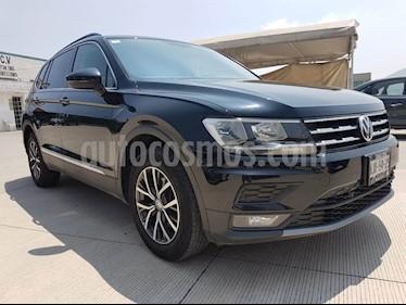 Foto venta Auto usado Volkswagen Tiguan Comfortline 7 Asientos Tela (2018) color Negro Profundo precio $370,000
