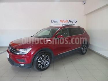 Foto venta Auto Seminuevo Volkswagen Tiguan Comfortline 7 Asientos Tela (2018) color Rojo precio $390,560