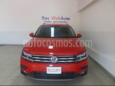 Foto venta Auto usado Volkswagen Tiguan Comfortline 7 Asientos Tela (2018) color Naranja precio $389,650