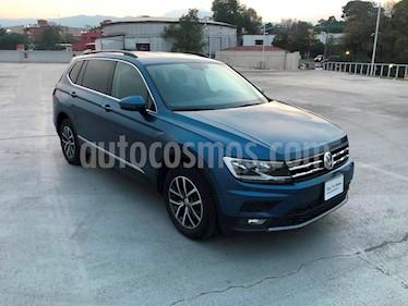 Foto venta Auto Seminuevo Volkswagen Tiguan Comfortline 7 Asientos Tela (2018) color Azul precio $415,000