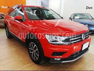 Foto venta Auto Seminuevo Volkswagen Tiguan Comfortline 7 Asientos Tela (2018) color Naranja precio $410,000