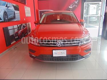 Foto venta Auto usado Volkswagen Tiguan Comfortline (2018) color Naranja precio $370,000