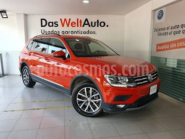 Volkswagen Tiguan Comfortline usado (2018) color Naranja precio $410,000