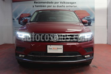 Volkswagen Tiguan Highline usado (2018) color Rojo Rubi precio $499,000