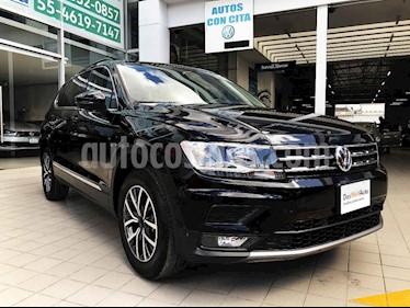 Volkswagen Tiguan 5 pts. Comfortline Piel usado (2018) color Negro precio $395,000