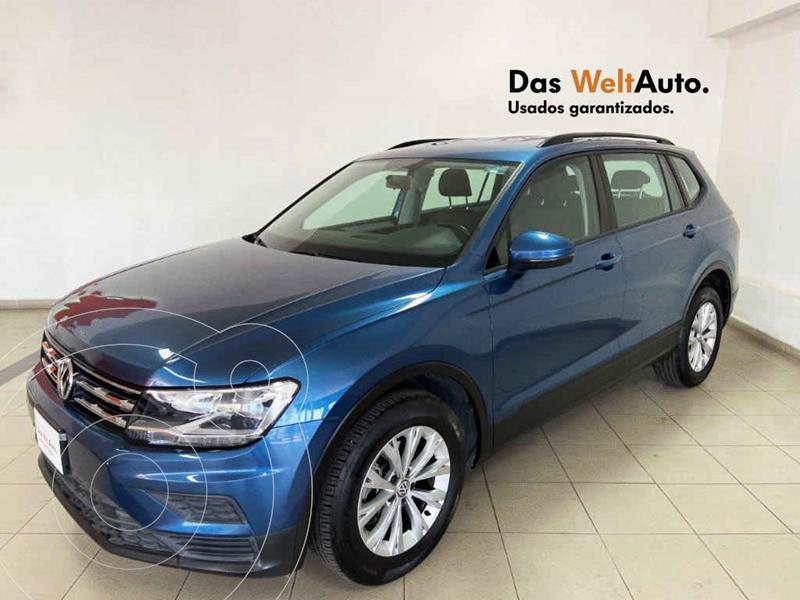 Volkswagen Tiguan Trendline Plus usado (2019) color Azul precio $351,627