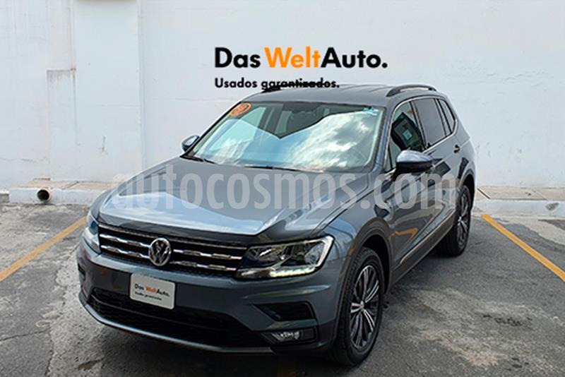 Volkswagen Tiguan Comfortline 5 Asientos Piel usado (2019) color Gris Platino precio $420,000