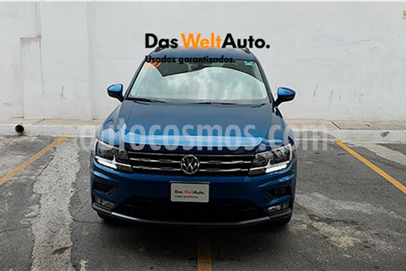 Volkswagen Tiguan Comfortline 5 Asientos Piel usado (2020) color Azul precio $440,000