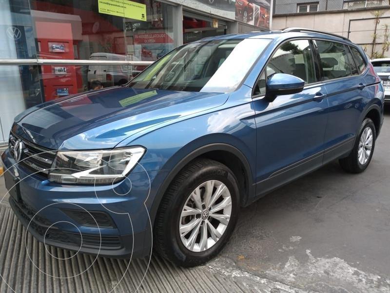 Foto Volkswagen Tiguan Trendline Plus usado (2019) color Azul precio $369,000