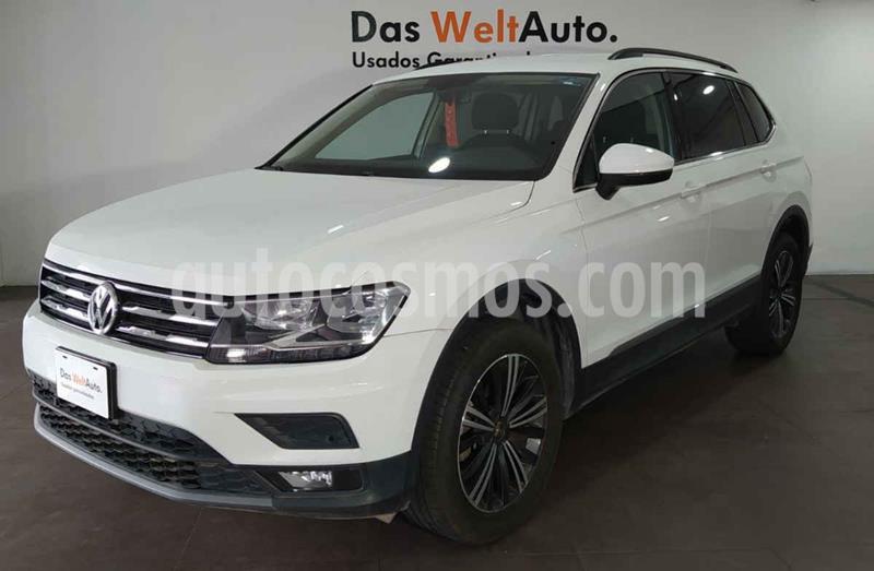 Volkswagen Tiguan Comfortline 7 Asientos Tela usado (2019) color Blanco precio $381,000