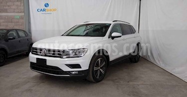 Volkswagen Tiguan 5p Confortline L4/1.4/T Aut Piel usado (2019) color Plata precio $349,900