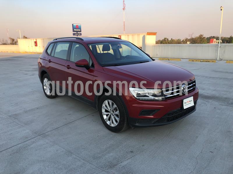 Volkswagen Tiguan Trendline Plus usado (2018) color Rojo Rubi precio $330,001