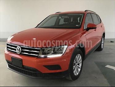 Volkswagen Tiguan Trendline Plus usado (2018) color Naranja precio $340,000