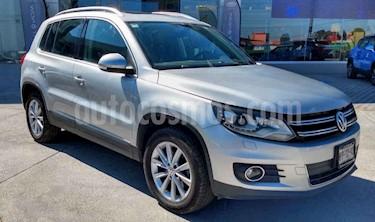 Volkswagen Tiguan Track & Fun 4Motion Piel usado (2013) color Plata precio $235,000