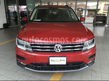 Volkswagen Tiguan Comfortline 7 Asientos Tela usado (2018) color Rojo Rubi precio $375,000