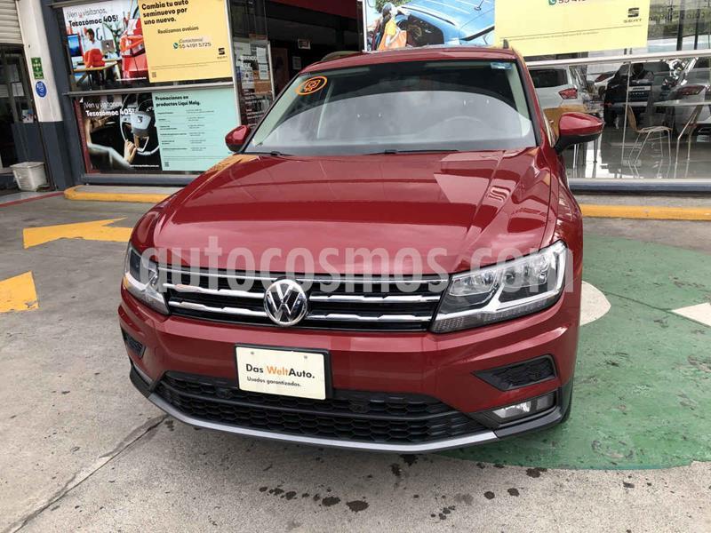 Volkswagen Tiguan Comfortline usado (2019) color Rojo precio $384,990