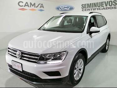 Volkswagen Tiguan 5 pts. Trendline Plus usado (2018) color Blanco precio $349,900